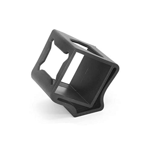HUANRUOBAIHUO-HAT TPU 3D Printed Kamerahalterung Halter Halterung 3D-Druck for Gopro 4 Session for Runcam 3 FPV Racer RC Drone Kamera-DIY Quadrocopter Zubehör (Color : Black)