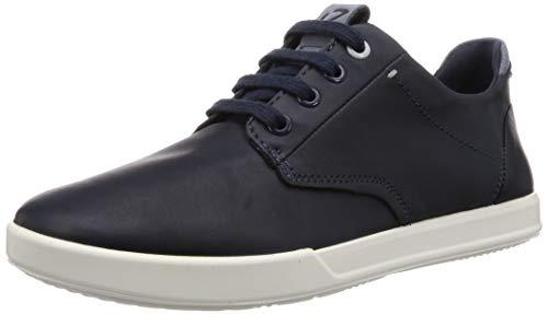 Ecco Herren COLLIN2.0 Sneaker, Blau (Marine/Marine 50595), 41 EU