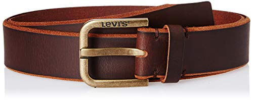 Levi's Men's Leather Belt (95268-0002_Brown_90)