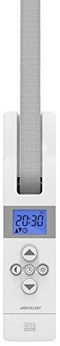 WIR elektronik, eWickler Comfort Maxi, eW825, Elektrischer Gurtwickler, Display, für 23mm Gurtband, Unterputz, Zugkraft bis 75kg, Feste Fahrtzeiten einstellbar, inkl. Netzstecker