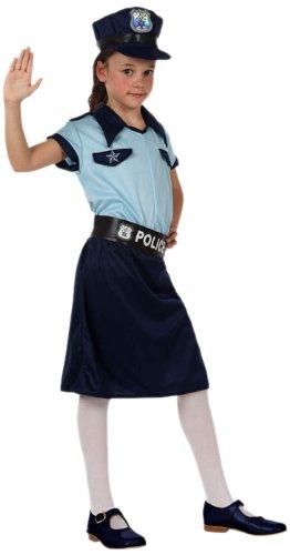 Atosa - 10947 - Costume - Déguisement De Fille Policier - Taille 1