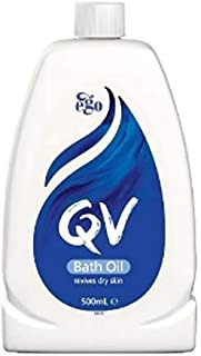 #MC QV Bath Oil 500ML-Helps Revive Dry Skin in The Bath. Whole-Body Moisture Replenishment Helps to Restore Your Skin'S Na...