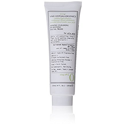 VMV Hypoallergenics Superskin Spring Cleaning Purifying Facial Wash for Oily Skin, 4 Fluid...