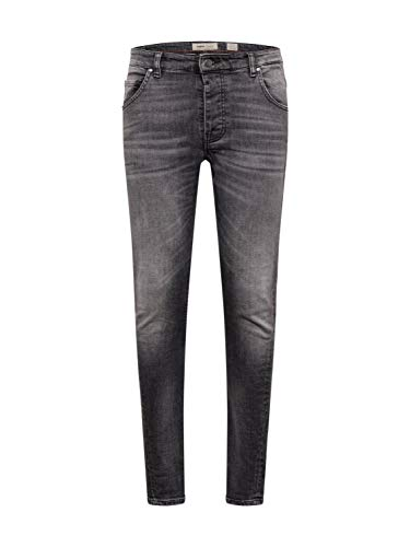 Tigha Herren Jeans Billy The Kid grau 32