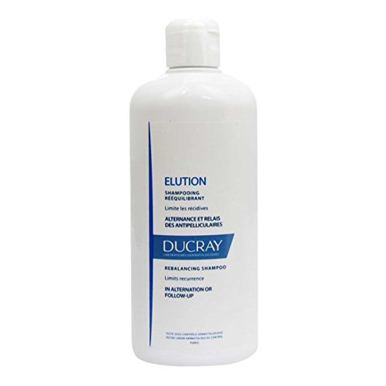 証明するペンス噴水Ducray Elution Rebalancing Shampoo 400ml [並行輸入品]