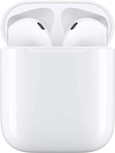 Auricular Bluetooth 5.0, Auricular inalámbrico, micrófono y Caja de Carga incorporados, reducción del Ruido estéreo 3D HD, para Auriculares iPhone/Android/Apple Airpods Pro/Samsung/Huawei/Xiaomi