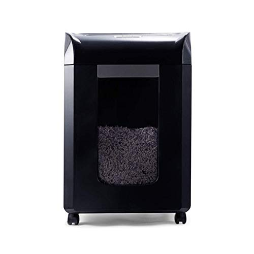 Great Deal! GYP Shredders Office Electronic Equipment Large Capacity Mute Plastic (Color : Black, Si...