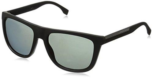 Hugo Boss BOSS0834S-HWMRA-56 HUGO BOSS Sonnenbrille BOSS0834S-HWMRA-56 Rechteckig Sonnenbrille 56, Schwarz