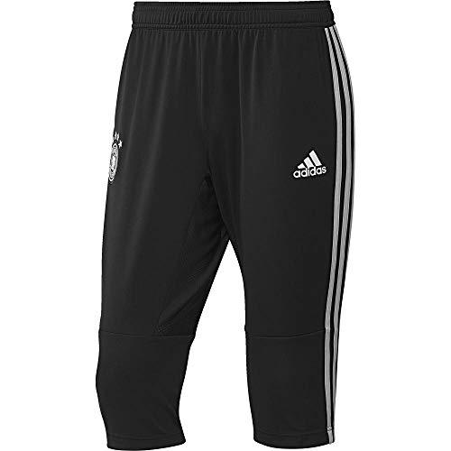 adidas Herren DFB 3/4 Pants Hose, Black/Grey Two f17/White, XS