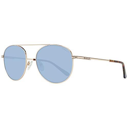 Gant GA7106 zonnebril voor heren, blauw (goud/blauw), 54