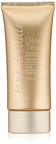 jane iredale Glow Time Full Coverage Mineral BB Cream, BB3, 1.7 Fl Oz