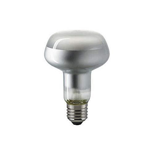 LED Filament-Reflektorlampe R80, 230V, Ø 8cm / L 11.5cm, E27, 7W 2700K 580lm 35°, dimmbar, Matt