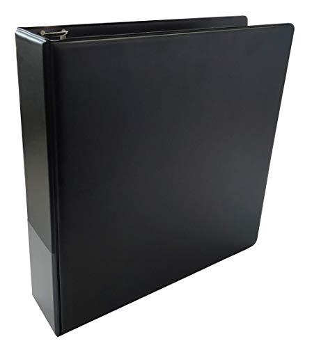 Arkero-G® 3-Ring Collectors Album Schwarz / Black - Sammelalbum für Ordner-Seiten / 9-Pocket Pages z.B. für Magic, Pokemon, Yugioh Karten