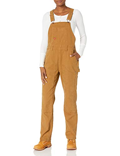 Dickies Damen Duck Double Front Bib Overall, Braune Ente, XX-Large