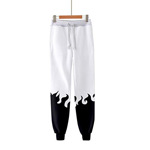 xHxttL Men's Naruto Jogger Anime Naruto Kakashi 3D Printed Jogging Pants Cosplay Gym Joggers Regular Fit Sweatpants Casual Sports Trousers