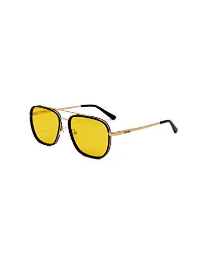 Kimoa - Daytona Gafas, Oro, Normal Unisex Adulto