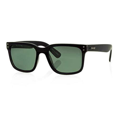 Carve Rivals - Gafas de Sol polarizadas, Color Negro Mate y Verde