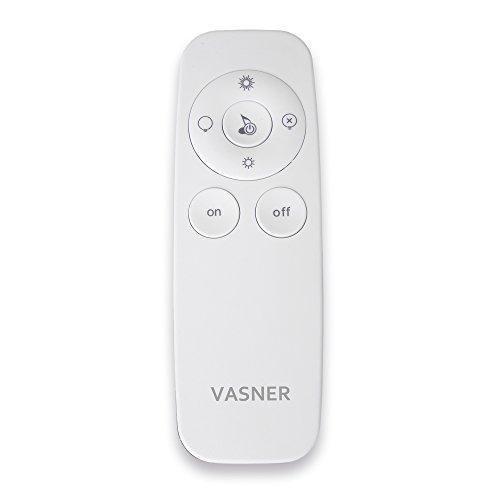 VASNER Appino BEATZZ Infrarotstrahler schwarz, dimmbar 2000 Watt mit Bluetooth, LED Backlight Licht, Musik-Lautsprecher Außenbereich, Ultra Low Glare - 6