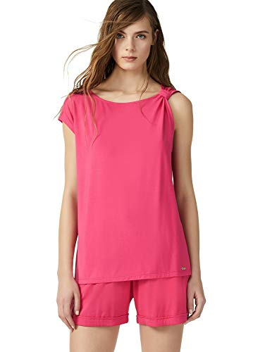 Liu.Jo - Camiseta de mujer Pittsburgh rosa S