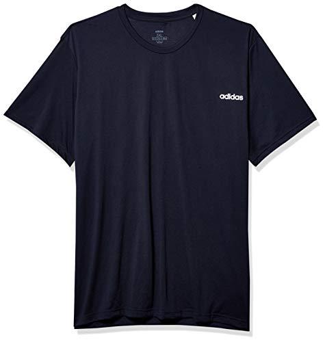 adidas Herren Mens D2m Soft Tee Hemd, Legende Tinte, XXX-Large Tall
