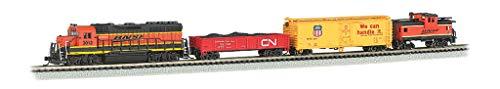Bachmann Trains - Roaring Rails DCC Sound Value Ready to Run Electric Train Set - N Scale