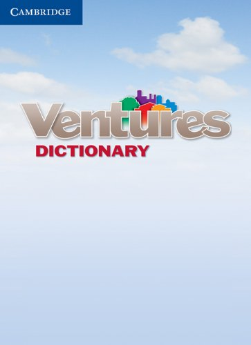 Ventures Dictionary (Cambridge Essential Eng Dictio)