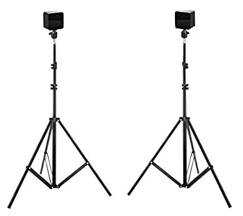New! Hadar- VR Tripod Stand - HTC Vive Compatible Sensor Stand and Base Station for Vive Sensors or Oculus Rift Constellation  2-Pack