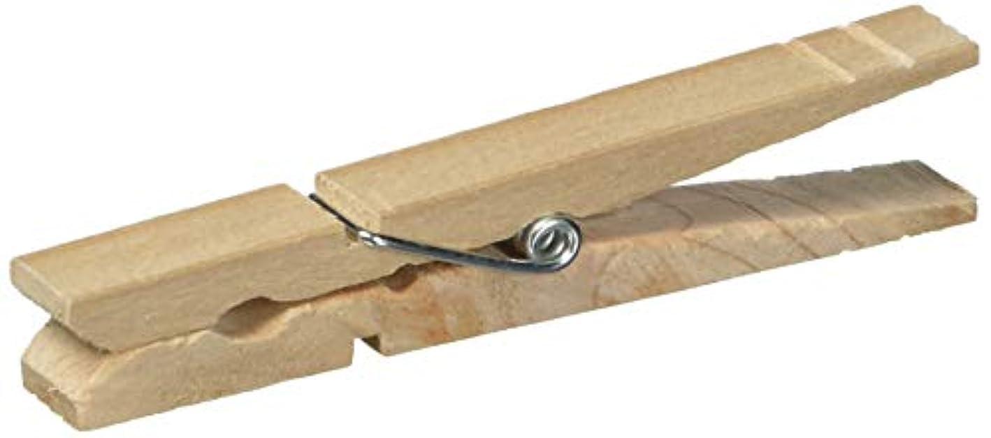 Homz Wood Clothes Pins, 96-Count