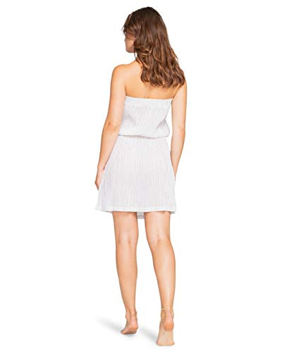 BILLABONG™ Far Away – Trägerloses Strandkleid für Damen W3OS07BIP1 Gr. X-Small, Schwarze Kieselsteine