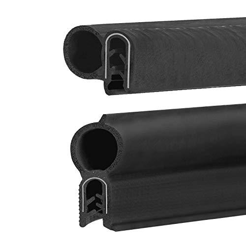 Gummidichtung, Kofferraumdichtung Schwarz in 4 Ausführungen zum auswählen Autotürdichtung, Kofferraumdichtung, Türdichtung (Türdichtung 15x19mm)