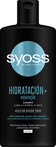 Syoss Champú Hidratación+, 1 x 440 g