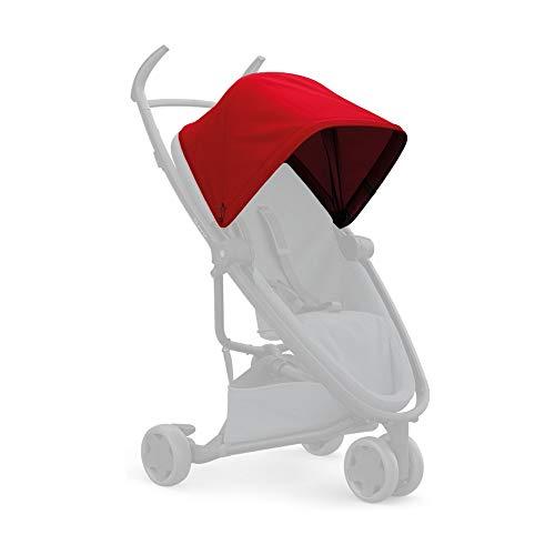 Quinny Zapp Flex Suncanopy, Sonnenschutz für den Zapp Flex Kinderwagen & Buggy, red (rot)