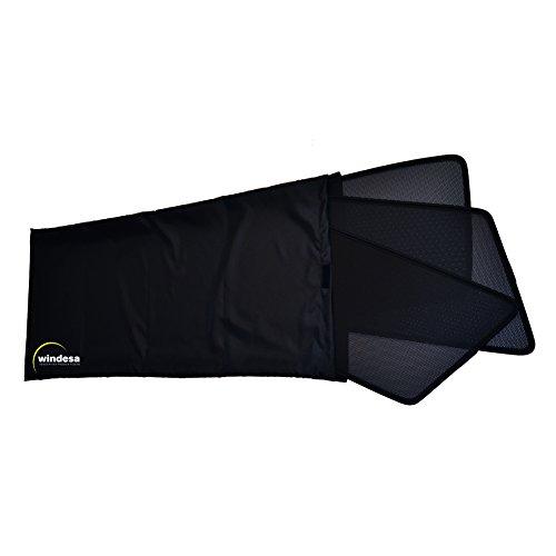 ClimAir Car Comfort Sonniboy Auto Sonnen- und Sichtschutz 5-Teiliges Set mit Tasche