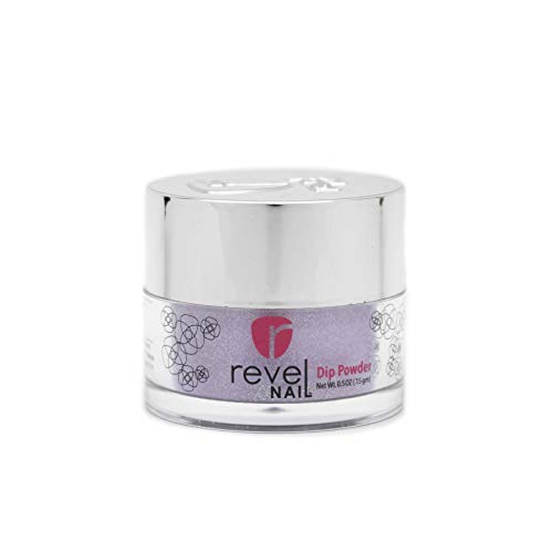 Revel Nail Dip Powder | for Manicures | Nail Polish Alternative | Non-Toxic, Odor-Free | Crack & Chip Resistant | Vegan, Cruelty-Free | Can Last Up to 8 Weeks | 0.5 oz Jar | Mood Changing (Starburst)