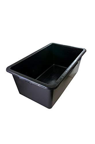 Mörtelwanne 60 Liter Mörtelkübel Mörteleimer Wanne 70 x 40 x 28 cm PE/PP Zementwanne Zement Wanne Baueimer