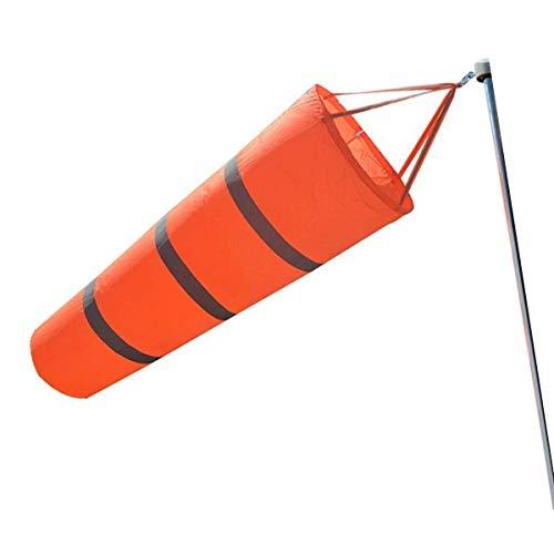 JieGuanG Windsack Regenbogen-Orange Windmesssocken Tasche Outdoor Wetter Erkennung Werkzeug für Flughafen-Zubehör