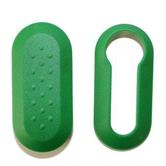 Housse plastique pour clé de voiture multiples couleurs vert