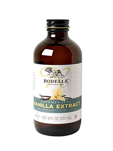 Rodelle Gourmet Pure Vanilla Extract, 8 Oz