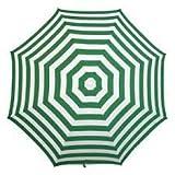 Banz NOOSAE - Paraguas de Playa UV, Color Esmeralda, 180 cm