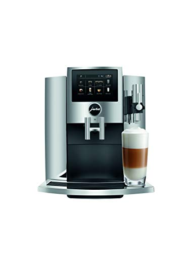 JURA S8 Automatic Coffee Machine, Chrome