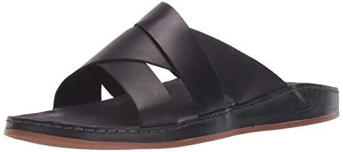 Chaco Women's Wayfarer Slide Sandal, Black, 9