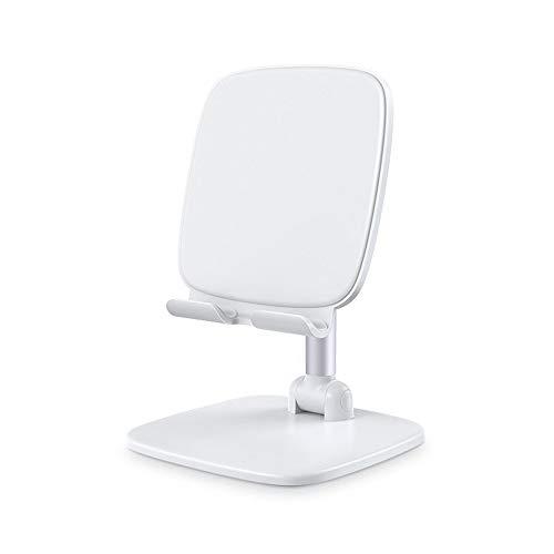 QHGao Soporte universal para tablet Dock para tablet universal, aluminio estable de mesa Dock de carga de metal universal, ángulo ajustable en altura robusta aluminio