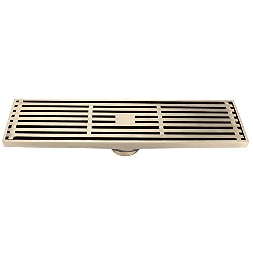 Drenaje de piso de balcón, filtro de precisión de drenaje de piso, cubierta gruesa de cobre para sala de estar