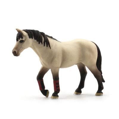 Originele echte Horse Fjord Arabische IJslandse Tennessee Hannoveraanse figuur diermodel kinderen speelgoed collectible beeldjes, race training paard