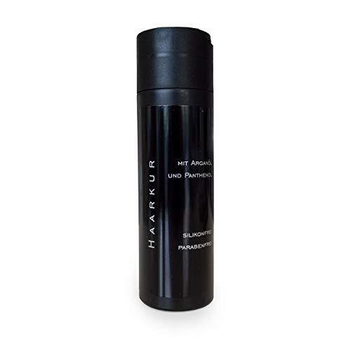 Intensiv-Haarmaske 200 ml mit Arganöl und Panthenol Pflegespülung für Echthaar Extensions Spülung Haarkur Pflegekur für Haarverlängerung Haarverdichtung silikonfrei parabenfrei