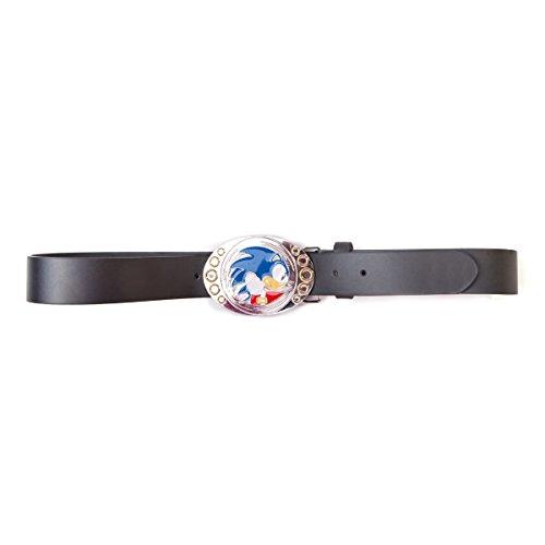 SONIC - Boucle de ceinture + Ceinture : Sonic Running (XL)