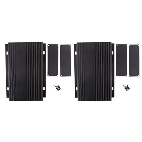 balikha 2X Caja de Protección de Aluminio Caja de Proyecto DIY Electrónico para Controlador de Coche