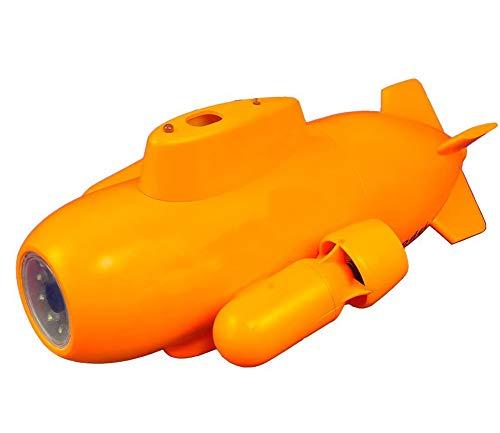 AHELT-J Unterwasser-Drohne RC U-Boot Mini HD Video Echtzeit mit FPV Unterwasserkamera Drohne. (5