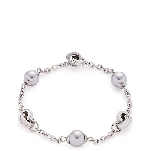Jewels by Leonardo Damen-Gliederarmbänder Edelstahl Glas 016979