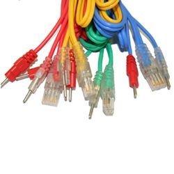 Compex Set mit 4 Kabeln 8P für Elektriker